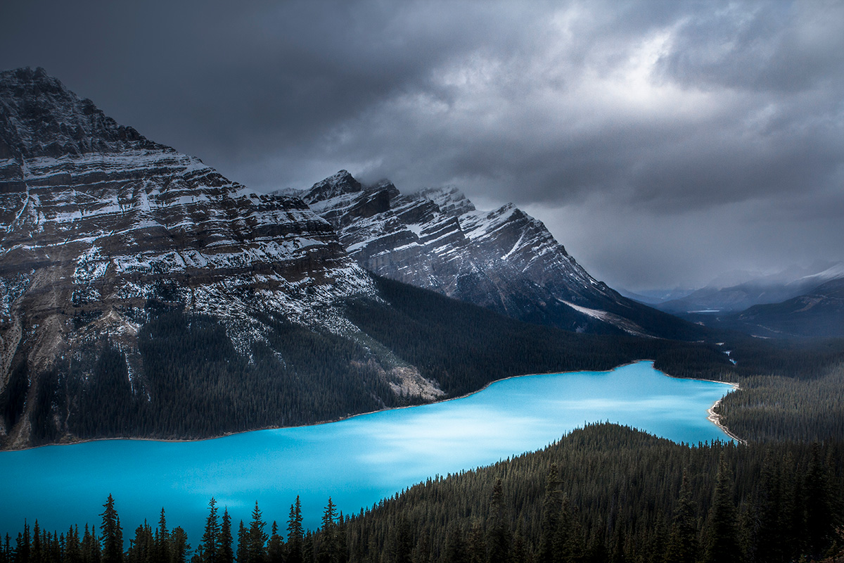 Peyto Lake, Day 3